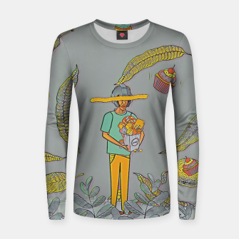 Thumbnail image of Muffin Women sweater, Live Heroes