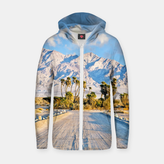 Thumbnail image of Summer Scenic Zip up hoodie, Live Heroes