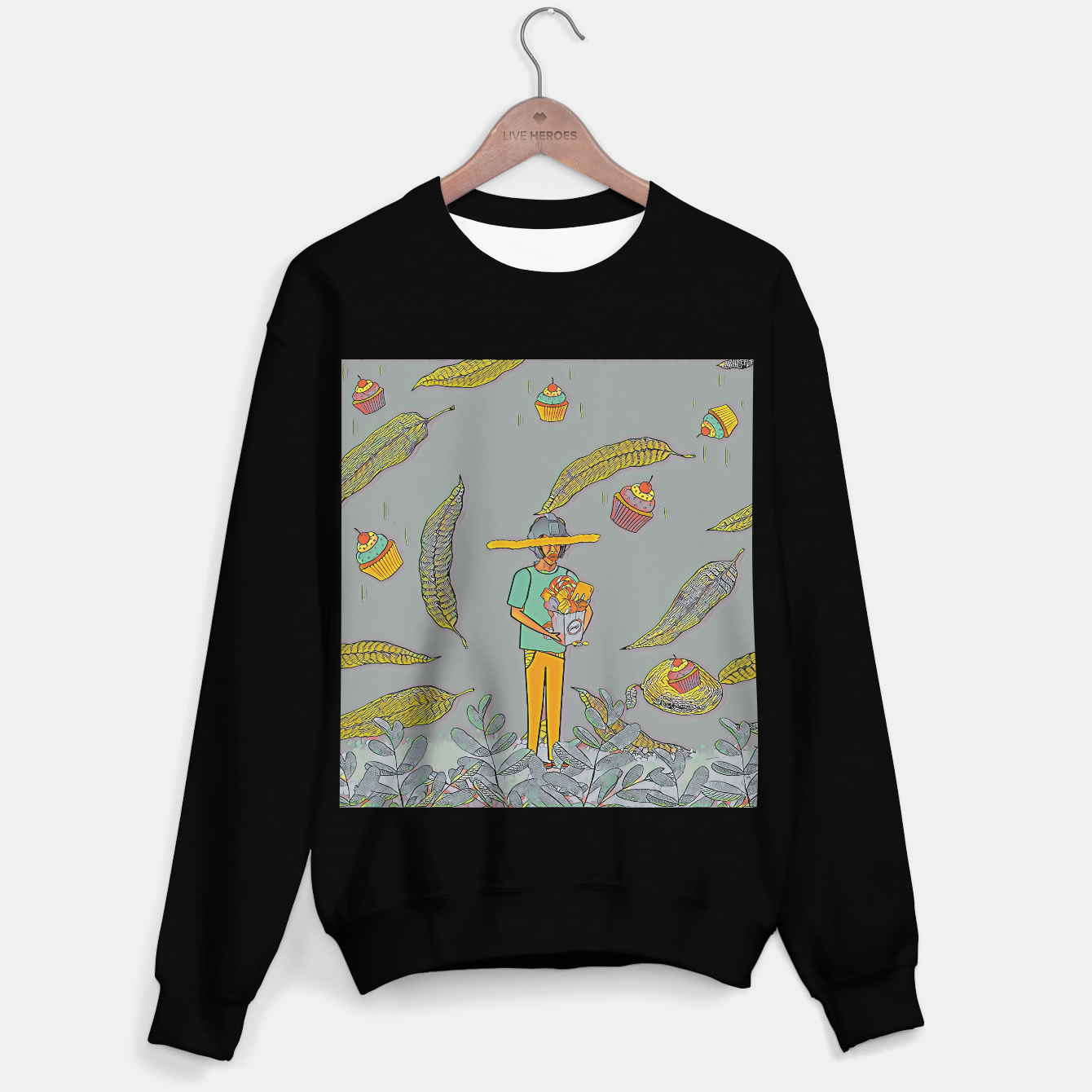 Image of Muffin Sweater regular - Live Heroes