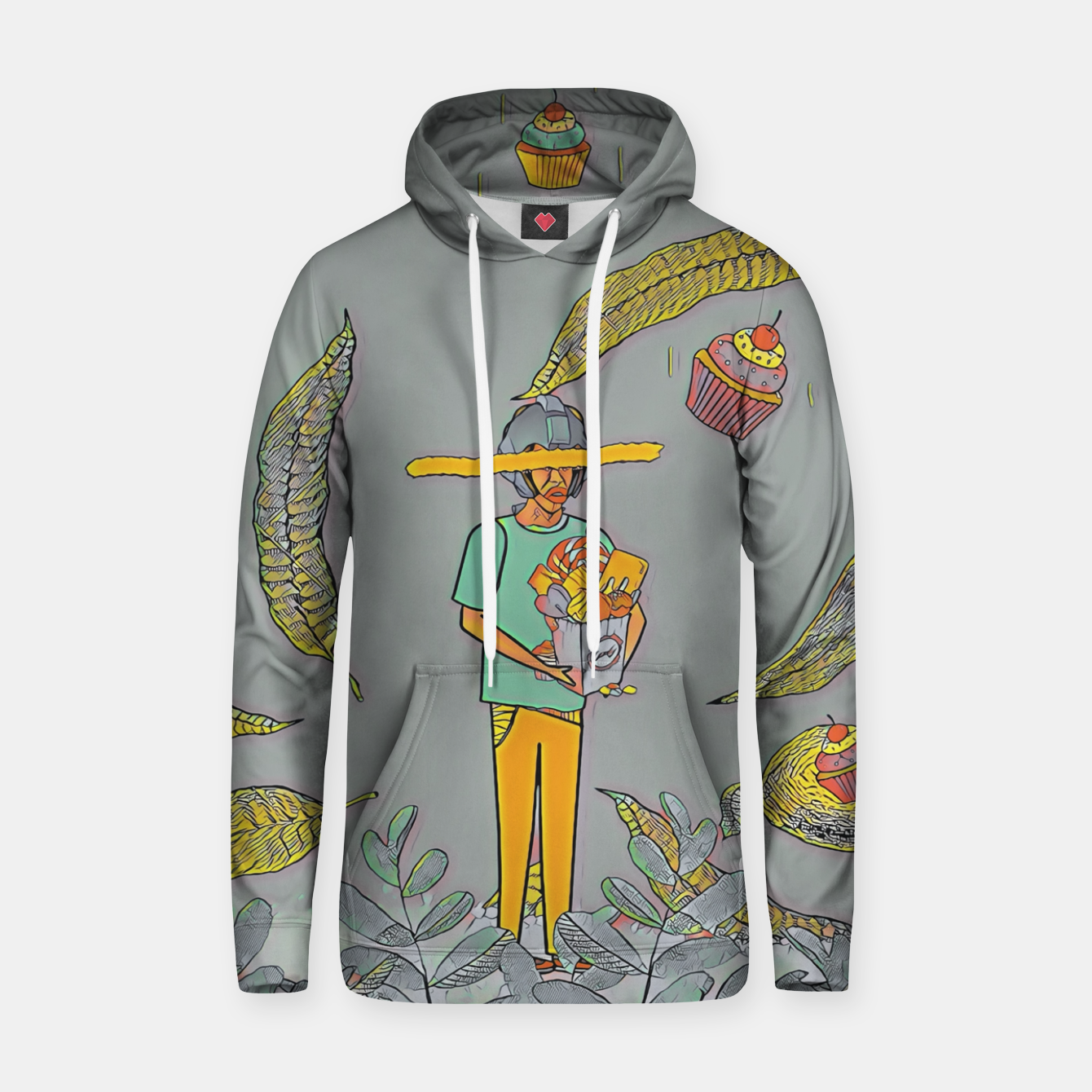 Image of Muffin Hoodie - Live Heroes