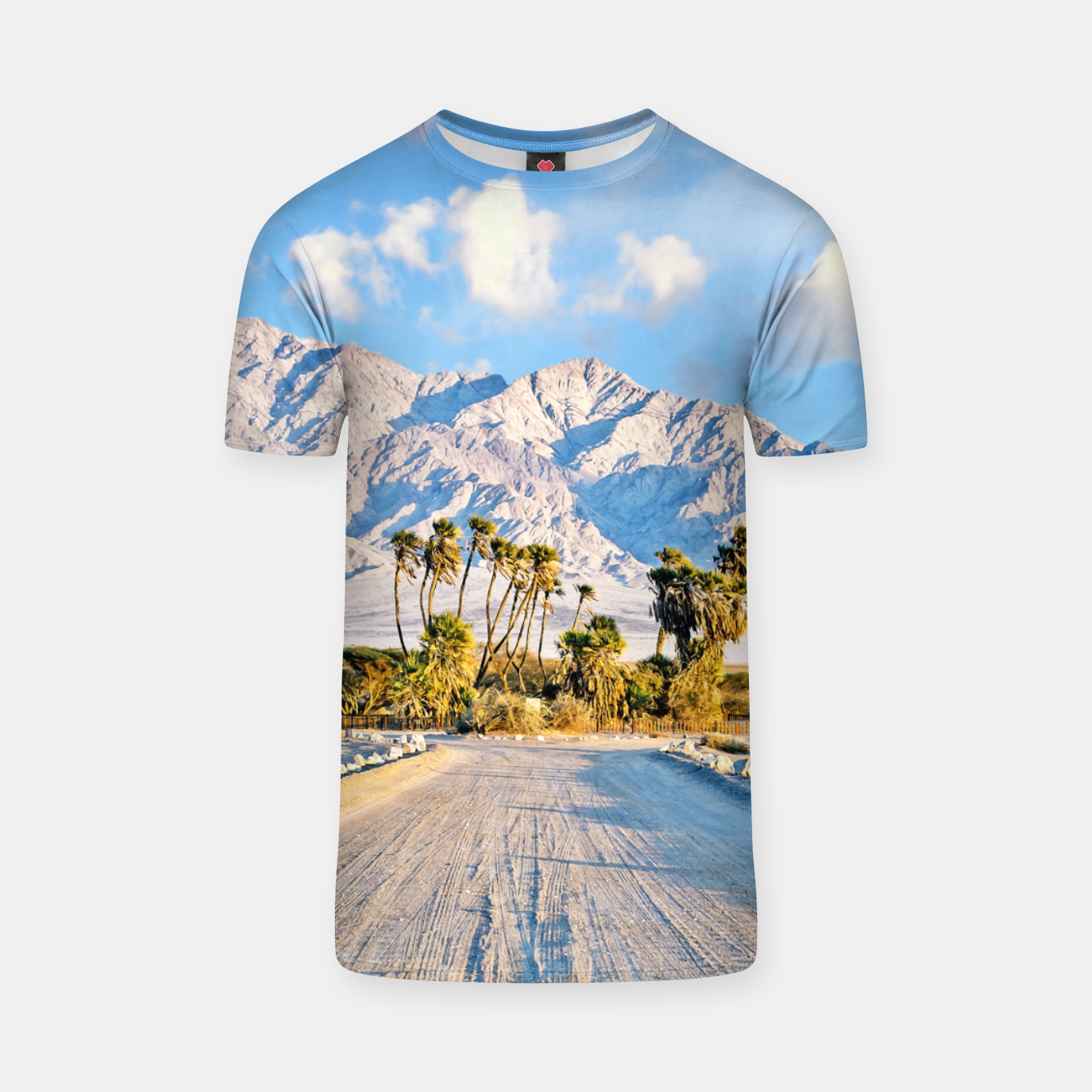 Image of Summer Scenic T-shirt - Live Heroes