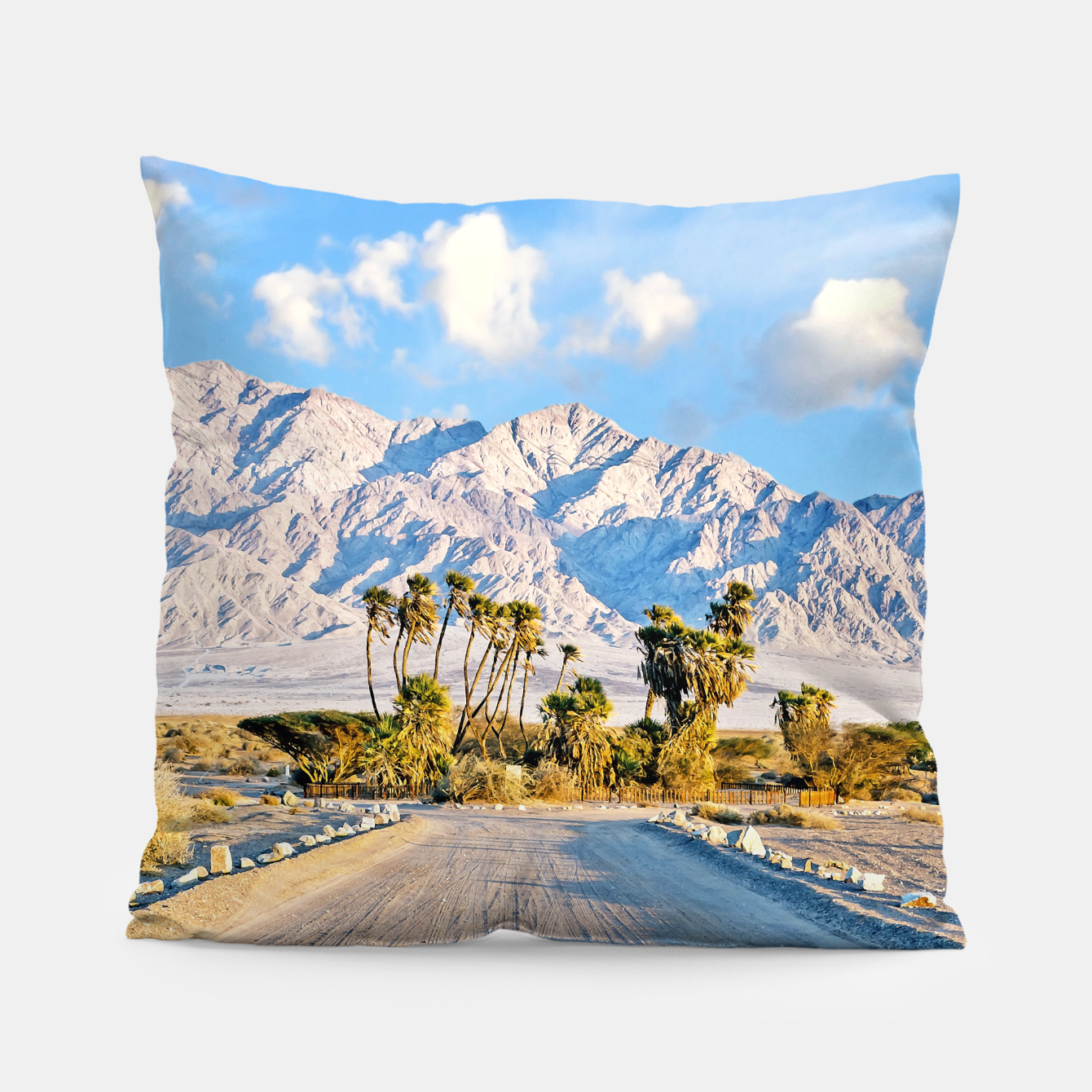 Image of Summer Scenic Pillow - Live Heroes