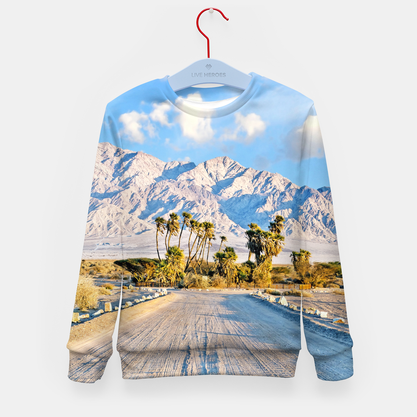 Image of Summer Scenic Kid's sweater - Live Heroes