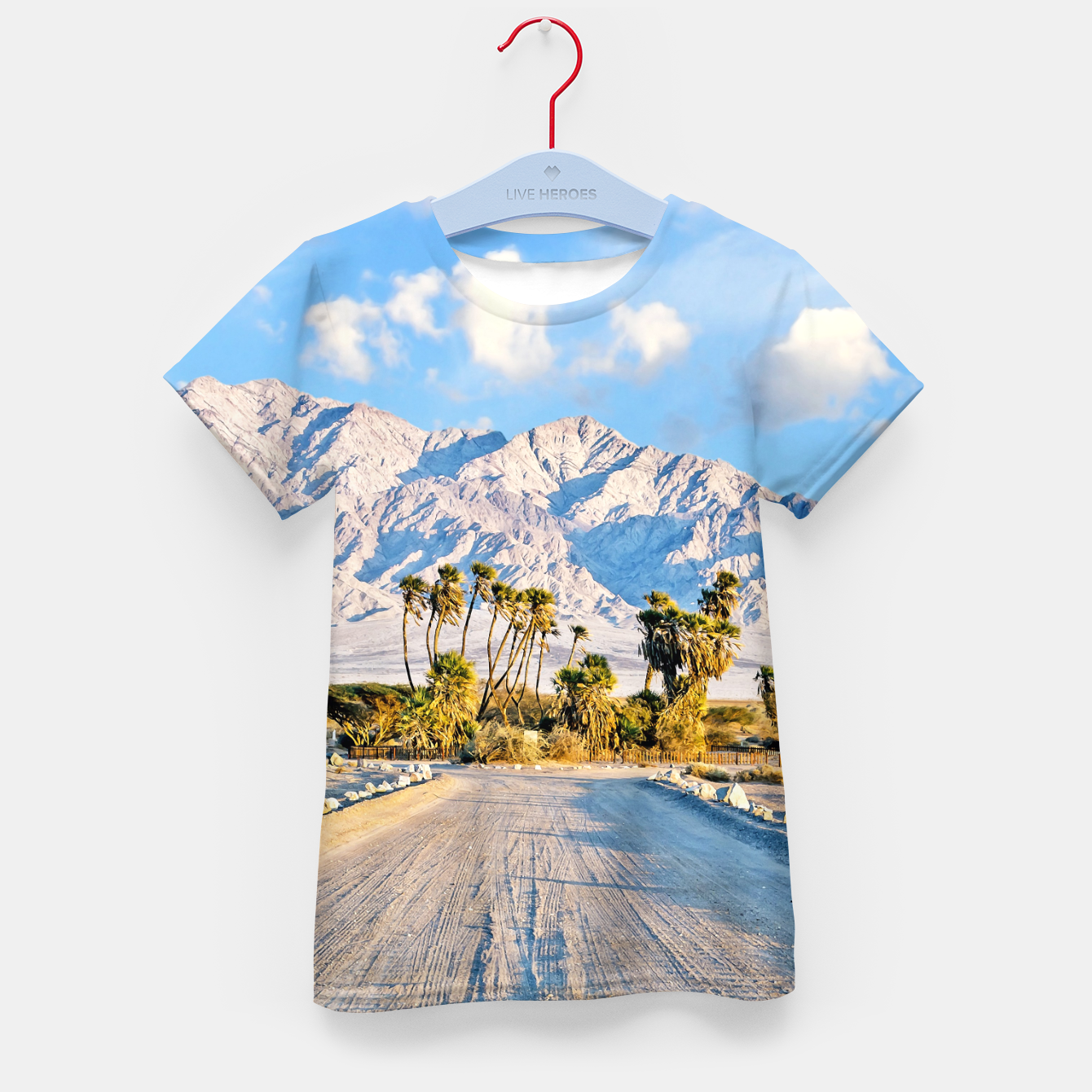 Image of Summer Scenic Kid's t-shirt - Live Heroes