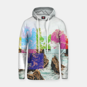 Thumbnail image of Virtual Sky Glitch Hoodie, Live Heroes
