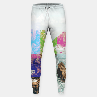 Thumbnail image of Virtual Sky Glitch Sweatpants, Live Heroes