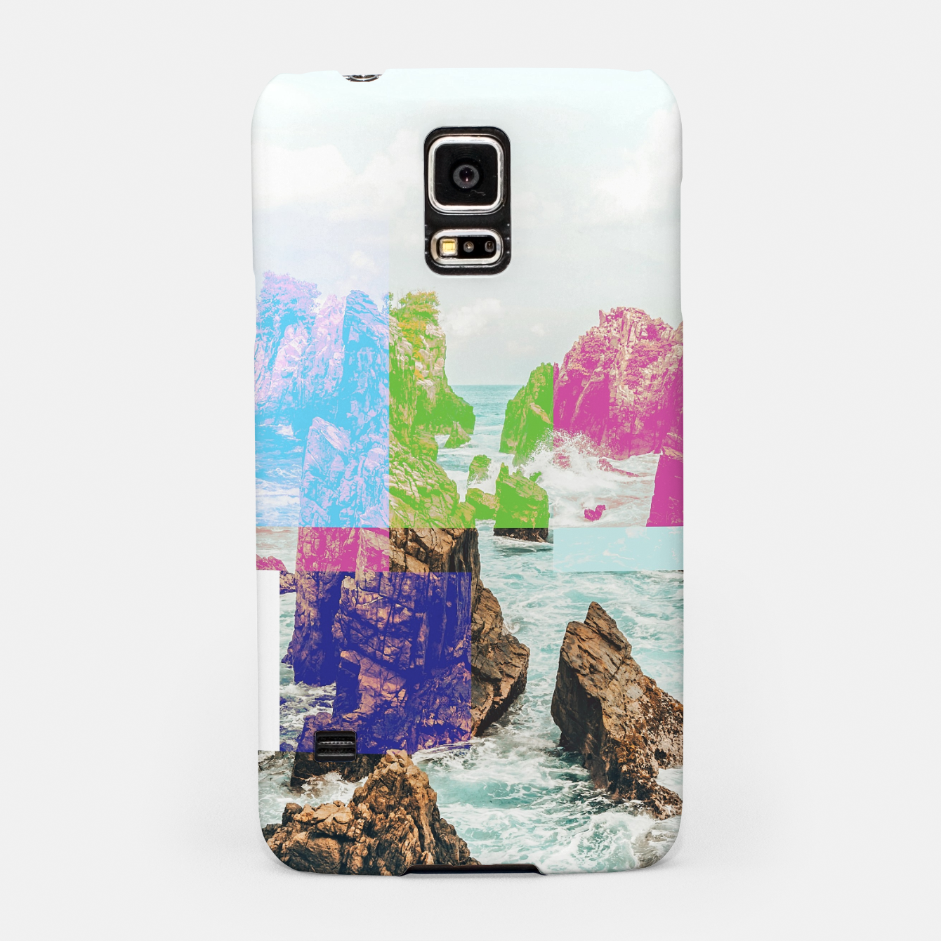 Image of Virtual Sky Glitch Samsung Case - Live Heroes
