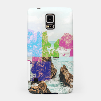 Virtual Sky Glitch Samsung Case thumbnail image