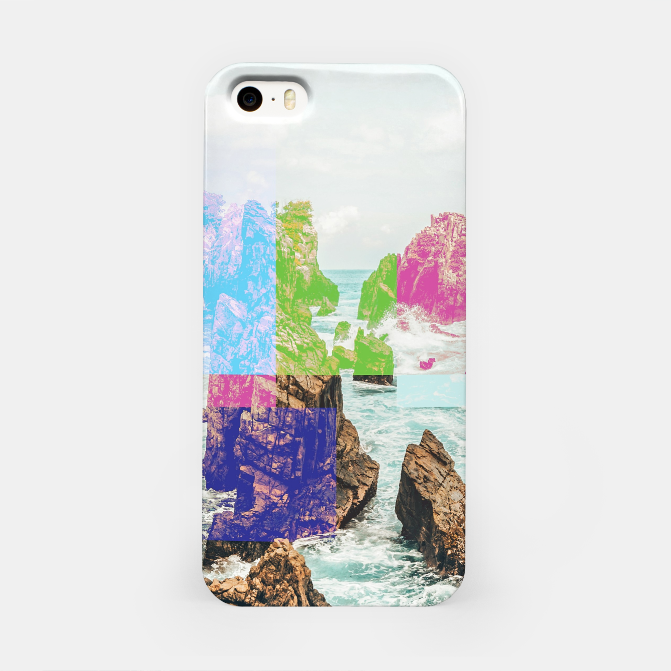 Image of Virtual Sky Glitch iPhone Case - Live Heroes