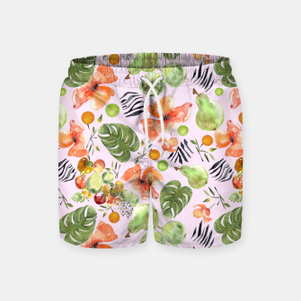 Miniatur Retro Fruits by Anna Swim Shorts, Live Heroes
