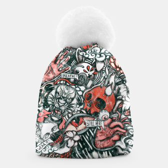 Thumbnail image of Washed Still Here Beanie, Live Heroes