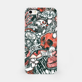 Miniatur Washed Still Here iPhone Case, Live Heroes