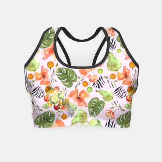 Miniatur Retro Fruits by Anna Crop Top, Live Heroes