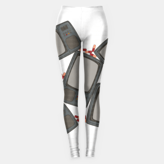 Thumbnail image of Schizophrenia Leggings, Live Heroes