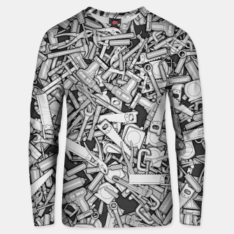 Thumbnail image of Toolbox DIY Tools Pattern Unisex sweater, Live Heroes