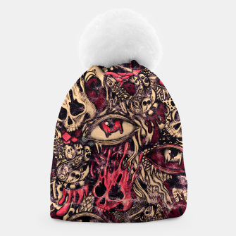 Miniatur Washed Melting Beanie, Live Heroes