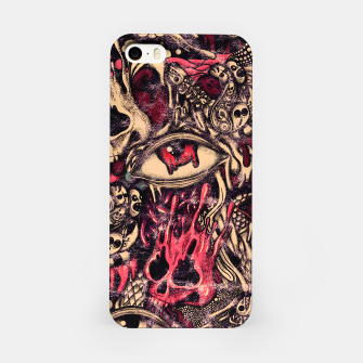 Washed Melting iPhone Case Bild der Miniatur