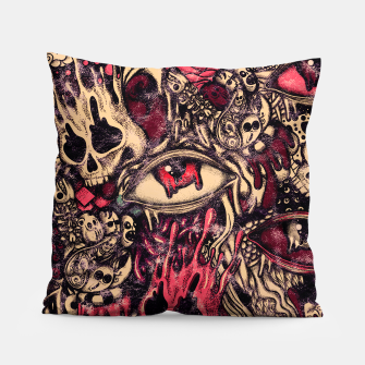 Miniatur Washed Melting Pillow, Live Heroes