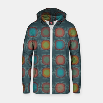 Thumbnail image of zappwaits - art Zip up hoodie, Live Heroes