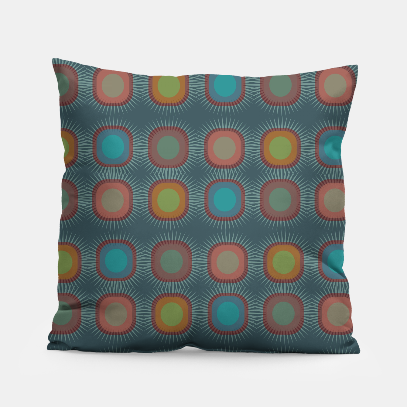 Image of zappwaits - art Pillow - Live Heroes