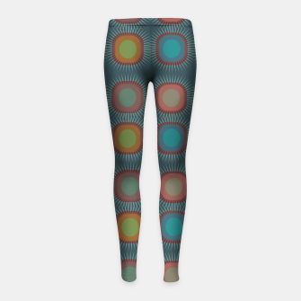Thumbnail image of zappwaits - art Girl's leggings, Live Heroes