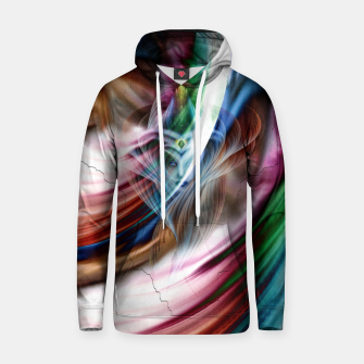 Whispers In A Dreams Of Beauty Fractal Art Hoodie obraz miniatury
