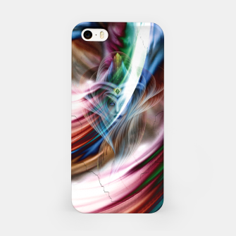 Whispers In A Dreams Of Beauty Fractal Art iPhone Case obraz miniatury