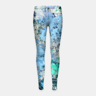 Thumbnail image of Big water Girl's leggings, Live Heroes