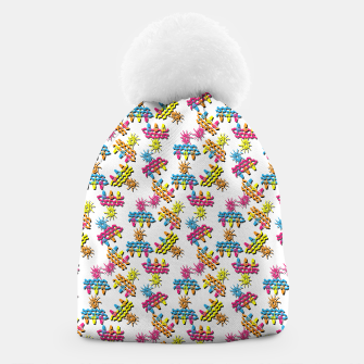 Thumbnail image of Pattern 1 Beanie, Live Heroes