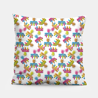 Thumbnail image of Pattern 1 Pillow, Live Heroes