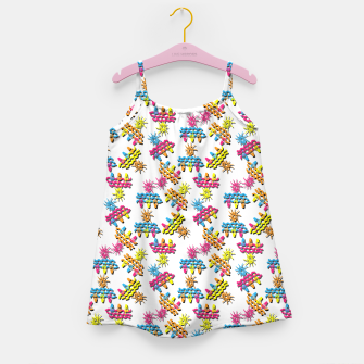 Thumbnail image of Pattern 1 Girl's dress, Live Heroes
