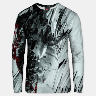 Thumbnail image of Abstract Portrait I Unisex sweater, Live Heroes