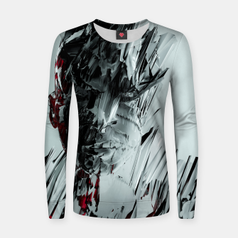 Thumbnail image of Abstract Portrait I Women sweater, Live Heroes