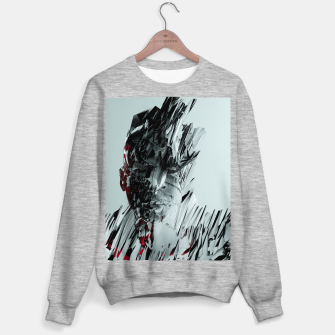 Thumbnail image of Abstract Portrait I Sweater regular, Live Heroes