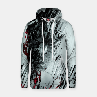Thumbnail image of Abstract Portrait I Hoodie, Live Heroes