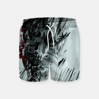 Thumbnail image of Abstract Portrait I Swim Shorts, Live Heroes