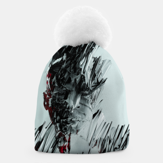 Thumbnail image of Abstract Portrait I Beanie, Live Heroes
