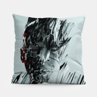 Thumbnail image of Abstract Portrait I Pillow, Live Heroes