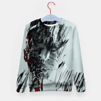 Thumbnail image of Abstract Portrait I Kid's sweater, Live Heroes
