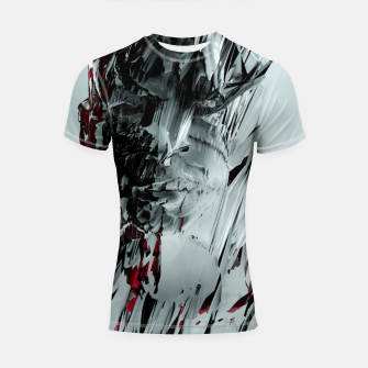 Thumbnail image of Abstract Portrait I Shortsleeve rashguard, Live Heroes