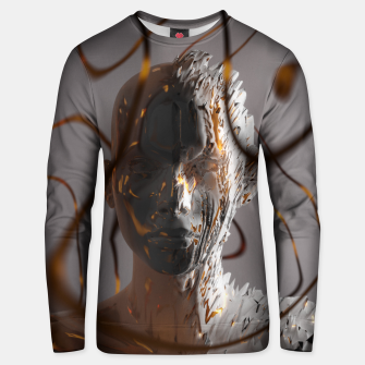 Thumbnail image of Abstract Portrait II Unisex sweater, Live Heroes
