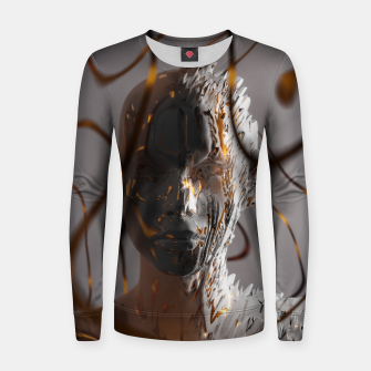 Thumbnail image of Abstract Portrait II Women sweater, Live Heroes