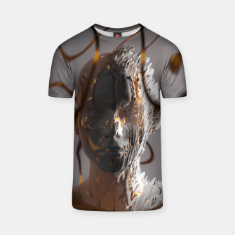 Thumbnail image of Abstract Portrait II T-shirt, Live Heroes