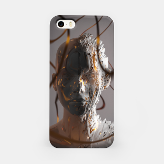 Thumbnail image of Abstract Portrait II iPhone Case, Live Heroes