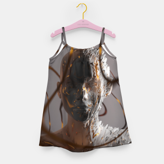 Thumbnail image of Abstract Portrait II Girl's dress, Live Heroes