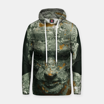 Thumbnail image of Abstract Portrait IX Hoodie, Live Heroes