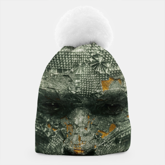 Thumbnail image of Abstract Portrait IX Beanie, Live Heroes