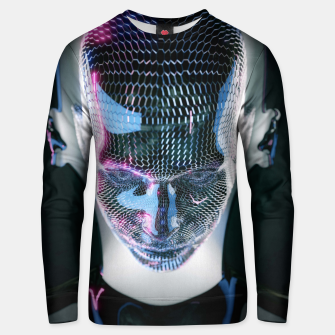 Thumbnail image of Abstract Portrait V Unisex sweater, Live Heroes