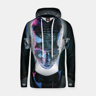 Thumbnail image of Abstract Portrait V Hoodie, Live Heroes