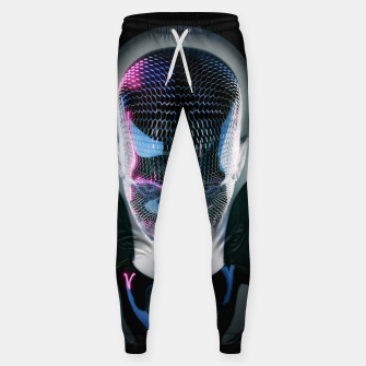 Thumbnail image of Abstract Portrait V Sweatpants, Live Heroes